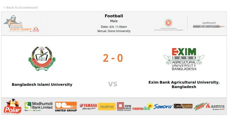 Bangladesh Islami University VS EXIM Bank Agricultural University
